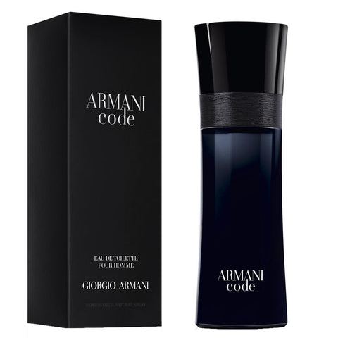 Armani Code by Giorgio Armani 125ml EDT (New Packaging)