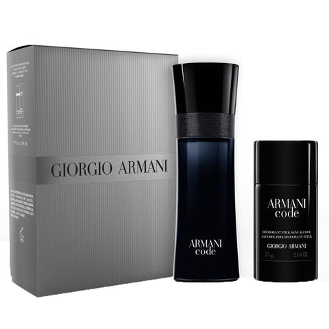 Armani Code by Giorgio Armani 75ml EDT 2 Piece Gift Set