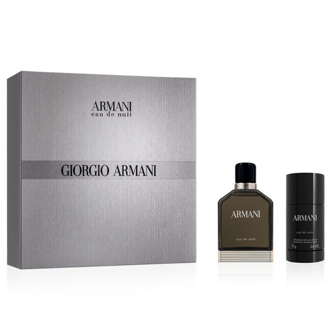 Armani Eau De Nuit by Giorgio Armani 100ml EDT 2pc Gift Set