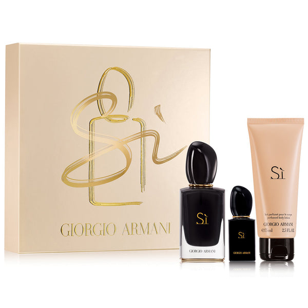 Armani Si Intense by Giorgio Armani 50ml EDP 3pc Gift Set