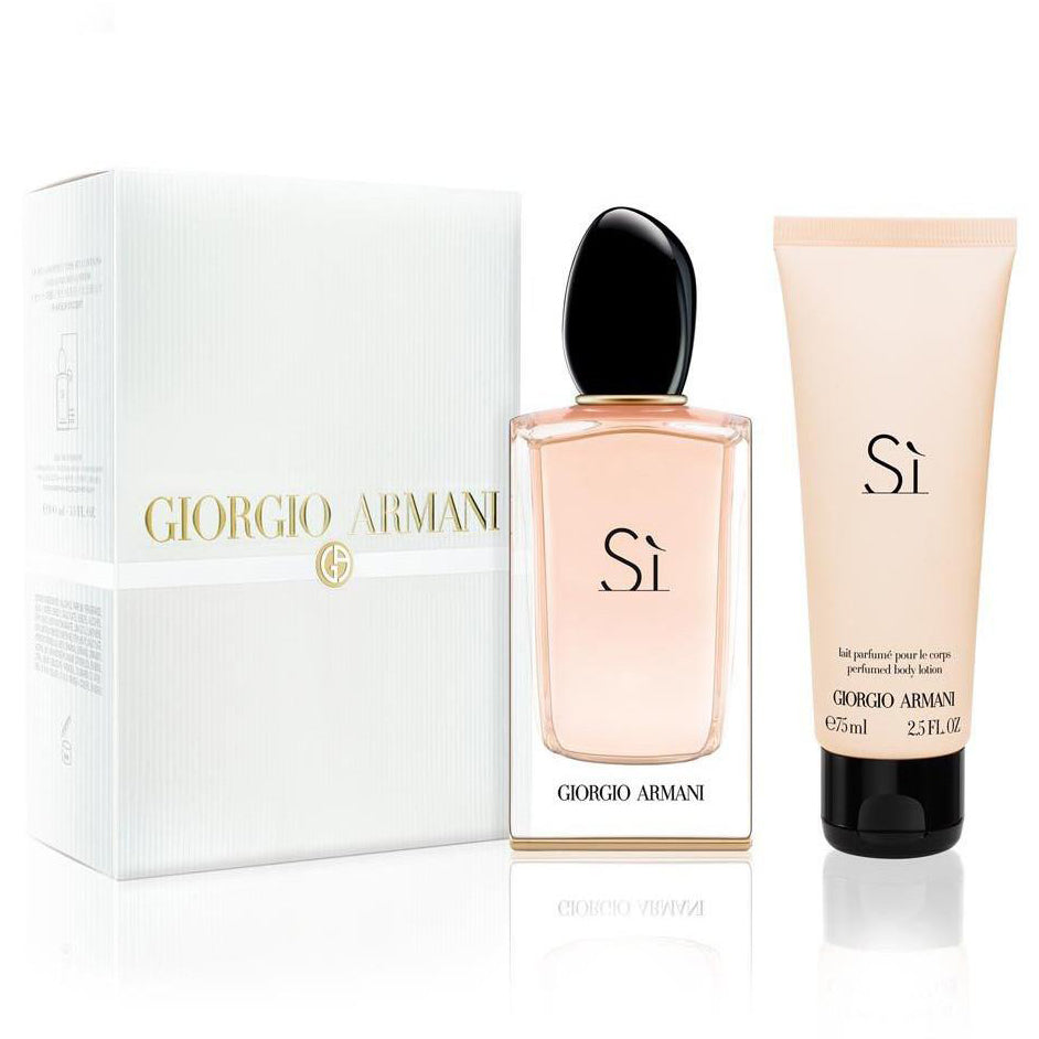 a1a035b6728 Si by Giorgio Armani 100ml EDP 2 Piece Gift Set