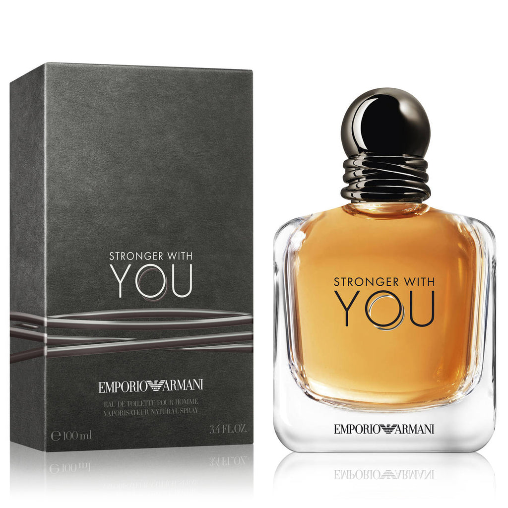 Stronger With You By Giorgio Armani 100ml Edt Perfume Nz