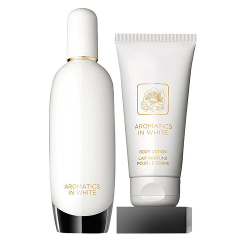Aromatics In White by Clinique 100ml EDP 2 Piece Gift Set