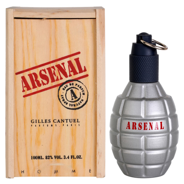 Arsenal Grey by Gilles Cantuel 100ml EDP