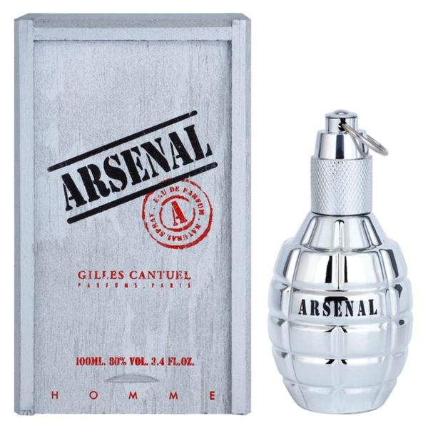 Arsenal Platinum by Gilles Cantuel 100ml EDP