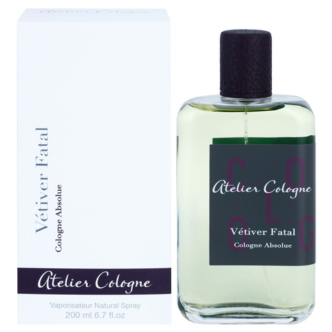 Vetiver Fatal by Atelier Cologne 200ml Pure Perfume
