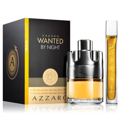 Wanted By Night by Azzaro 100ml EDP 2 Piece Gift Set