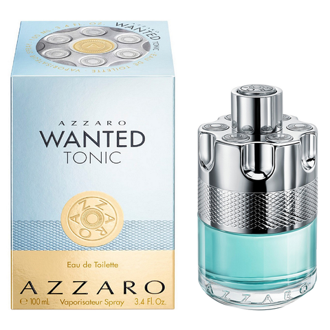 Wanted Tonic by Azzaro 100ml EDT for Men