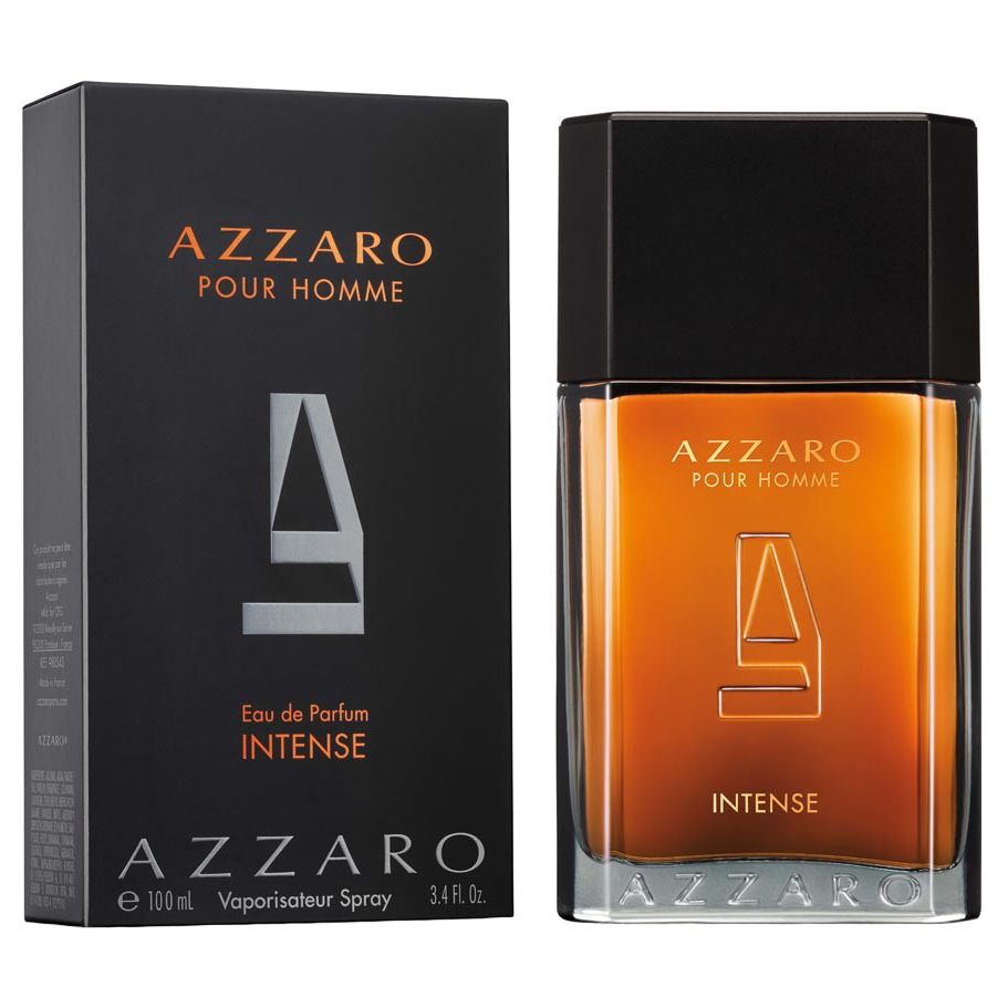 By 100ml Edp Men For Azzaro Intense TilOPwZXku