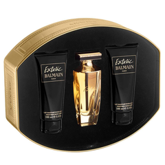 100% authentic great fit elegant shoes Extatic by Balmain 90ml EDP 3 Piece Gift Set