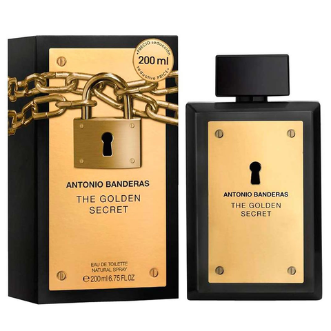 The Golden Secret by Antonio Banderas 200ml EDT
