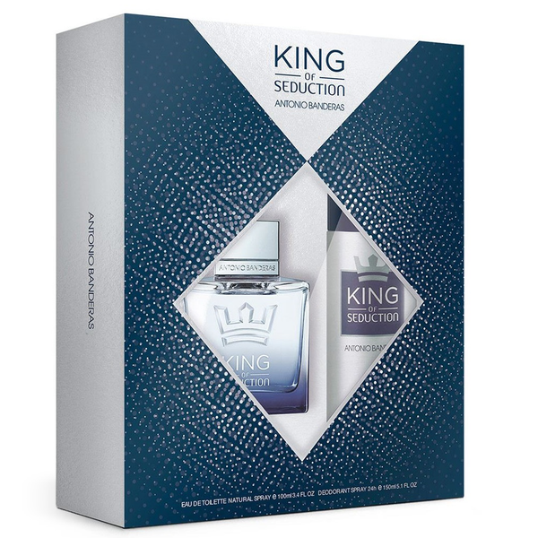 King of Seduction by Antonio Banderas 100ml EDT 2 Piece Set