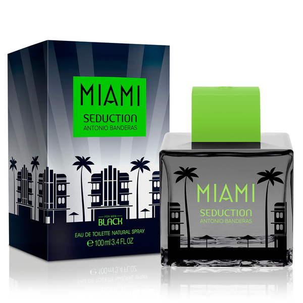 Miami Seduction Black by Antonio Banderas 100ml EDT