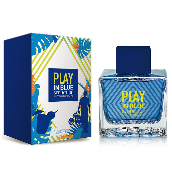 Play In Blue Seduction by Antonio Banderas 100ml EDT