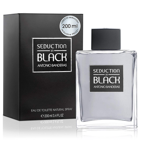 Seduction In Black by Antonio Banderas 200ml EDT