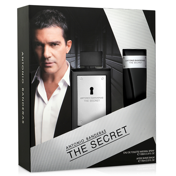 The Secret by Antonio Banderas 100ml EDT 2 Piece Gift Set