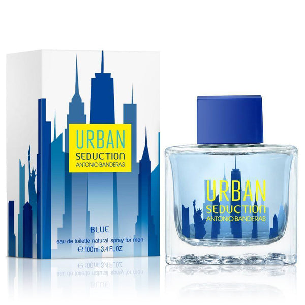 Urban Seduction Blue by Antonio Banderas 100ml EDT