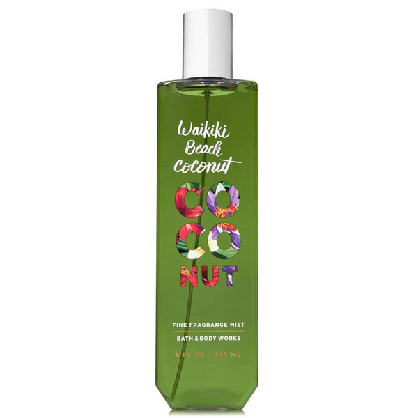Waikiki Beach Coconut by Bath & Body Works 236ml Fragrance Mist