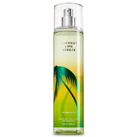 Coconut Lime Breeze by Bath & Body Works 236ml Fragrance Mist