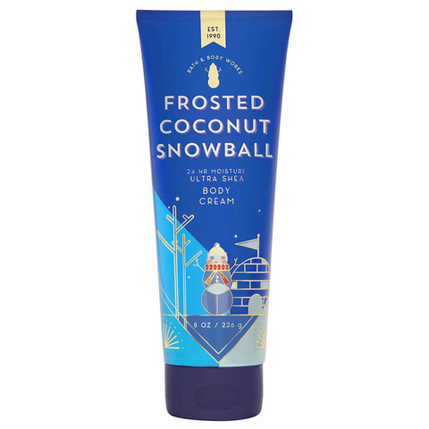 Frosted Coconut Snowball by Bath & Body Works 226g Body Cream