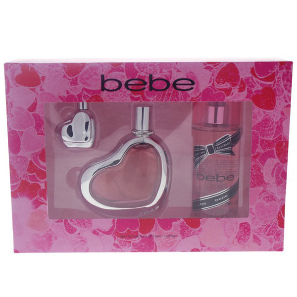 Bebe by Bebe 100ml EDP 3 Piece Gift Set