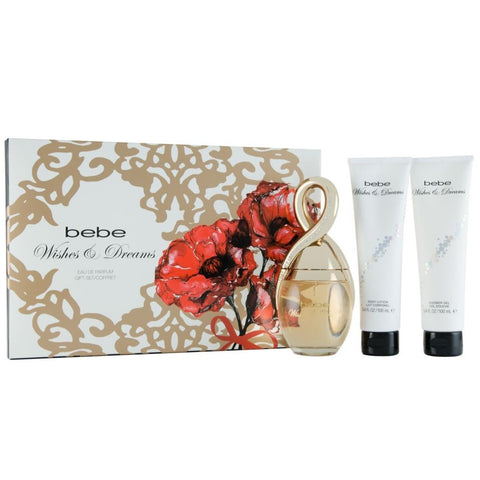 Bebe Wishes & Dreams 100ml EDP 3 Piece Gift Set