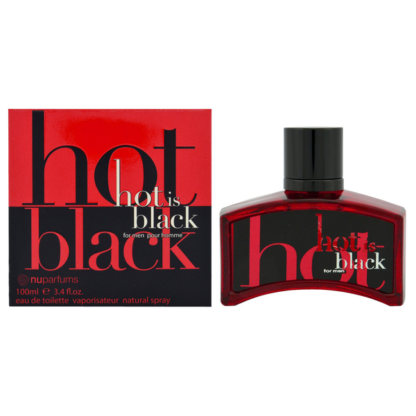 Black Is Black Hot by Nu Parfums 100ml EDT