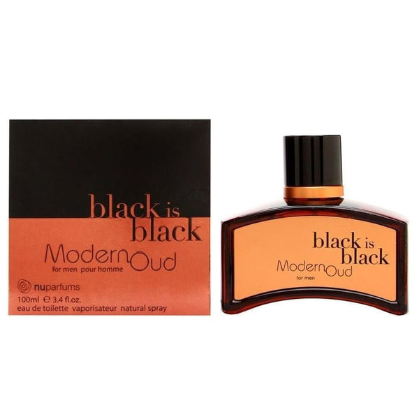 Black Is Black Modern Oud by Nu Parfums 100ml EDT