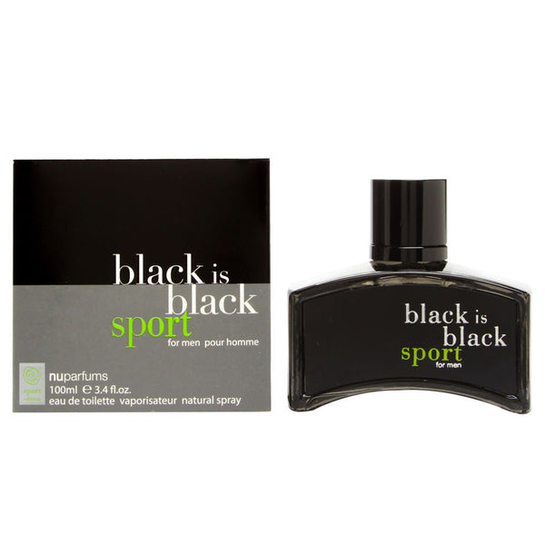 Black Is Black Sport by Nu Parfums 100ml EDT
