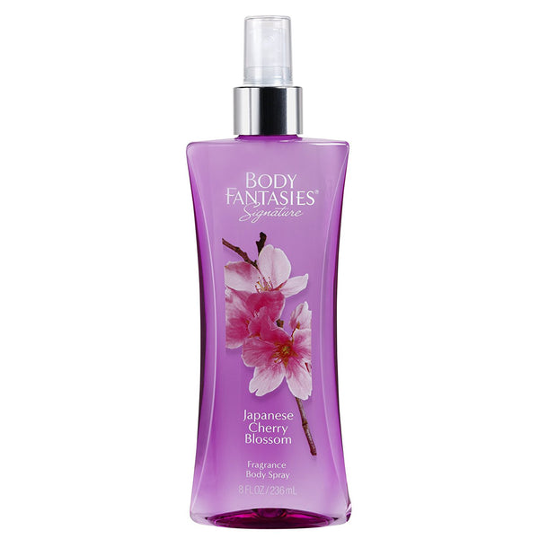 Body Fantasies Japanese Cherry Blossom 236ml Fragrance Spray