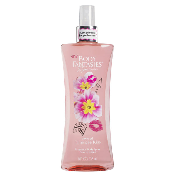 Body Fantasies Sweet Primrose Kiss 236ml Fragrance Spray