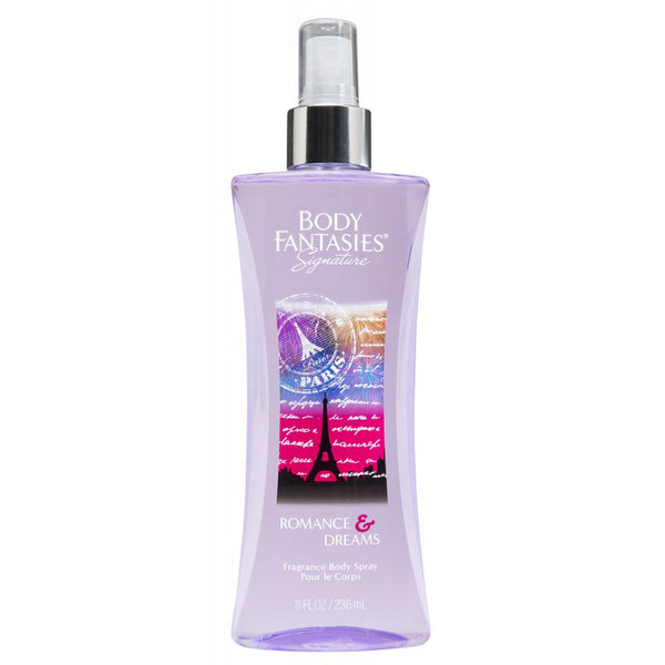 Body Fantasies Romance & Dreams 236ml Fragrance Spray