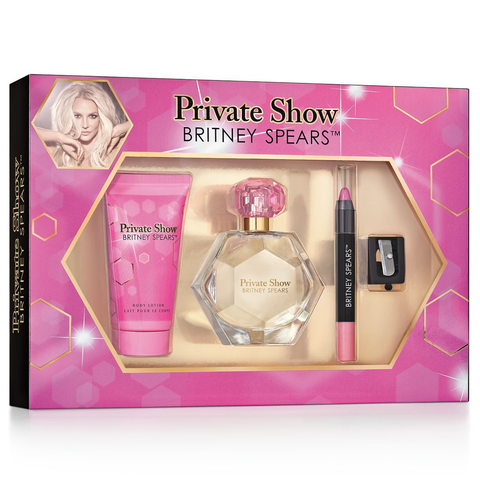 Private Show by Britney Spears 50ml EDP 4 Piece Gift Set