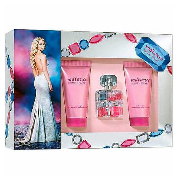 Radiance by Britney Spears 15ml EDP 3 Piece Gift Set