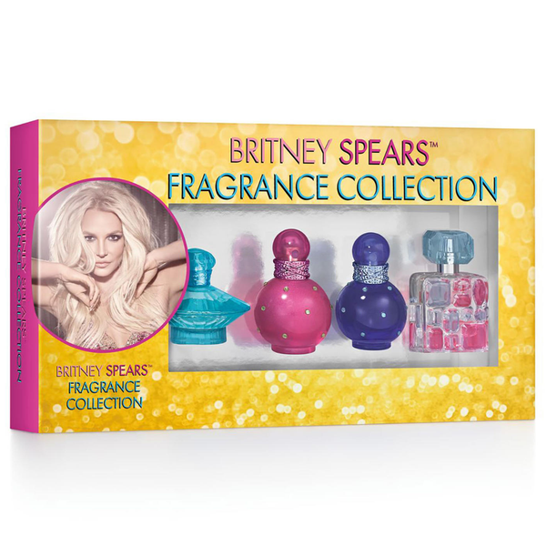 Britney Spears Fragrance Collection 4 Piece Gift Set