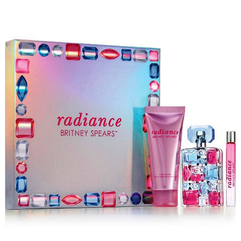 Radiance by Britney Spears 50ml EDP 3 Piece Gift Set
