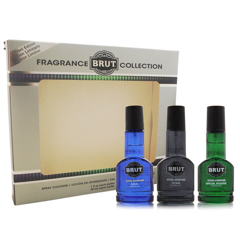 Brut Fragrance Collection 3 Piece Gift Set