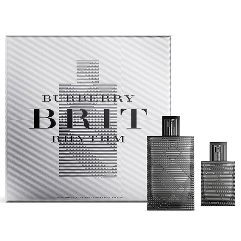Burberry Brit Rhythm 90ml EDT 2 Piece Gift Set
