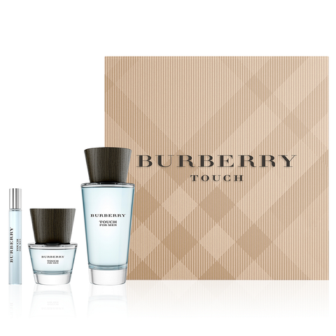 Burberry Touch by Burberry 100ml EDT 3 Piece Gift Set