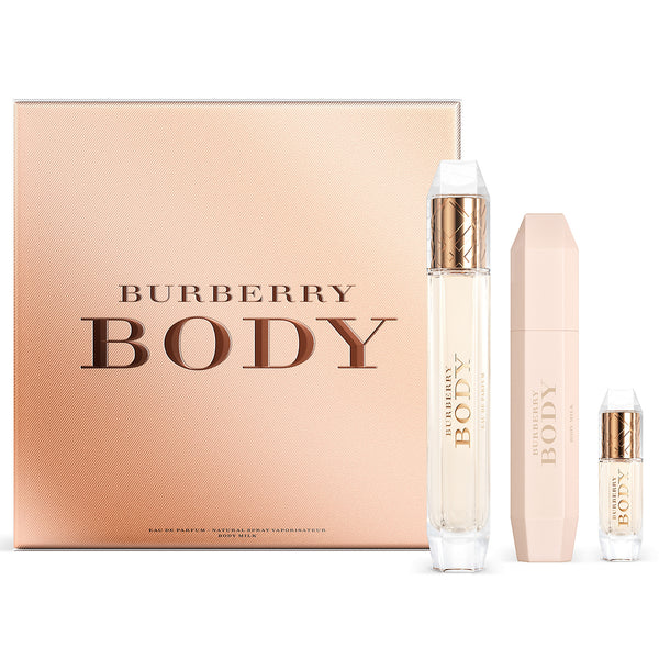 Burberry Body by Burberry 85ml EDP 3 Piece Gift Set