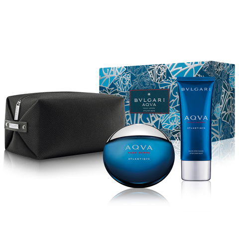 Aqva Atlantiqve by Bvlgari 100ml EDT 3 Piece Gift Set