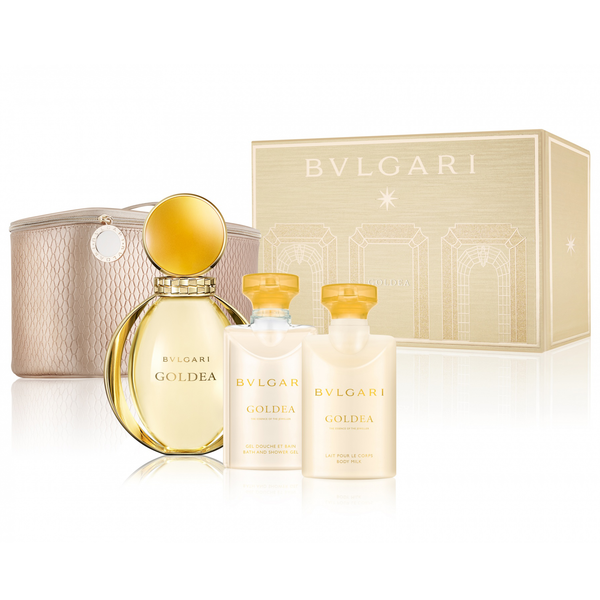 Goldea by Bvlgari 90ml EDP 4 Piece Gift Set