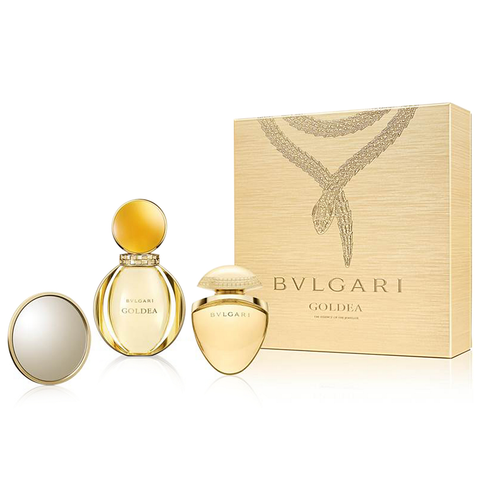 Goldea by Bvlgari 50ml EDP 3 Piece Gift Set