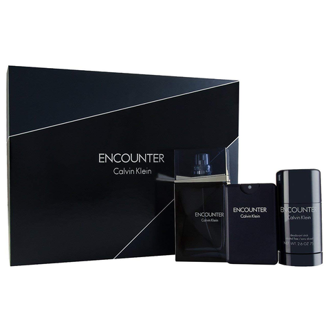 Encounter by Calvin Klein 100ml EDT 3 Piece Gift Set