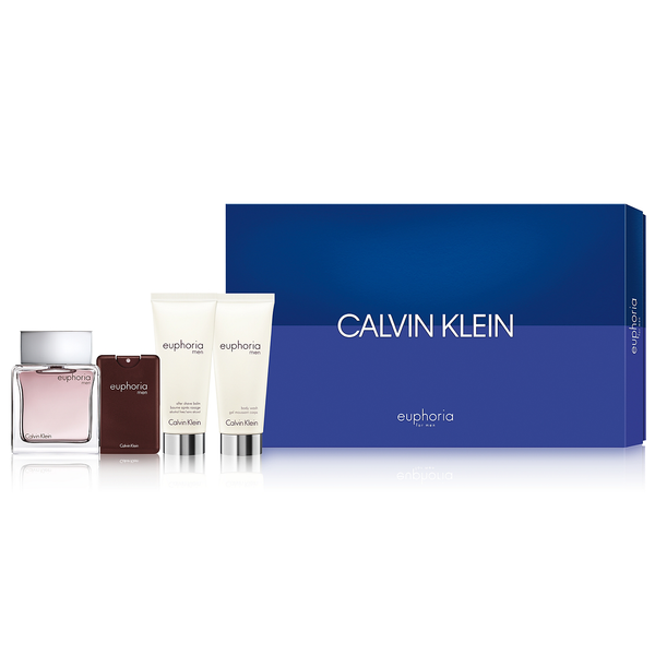 Euphoria by Calvin Klein 100ml EDT 4 Piece Gift Set