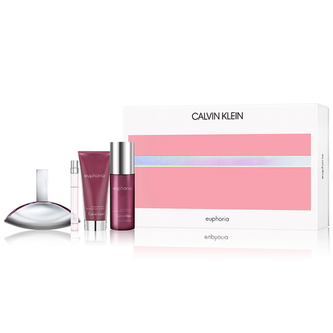 Euphoria by Calvin Klein 100ml EDP 4 Piece Gift Set