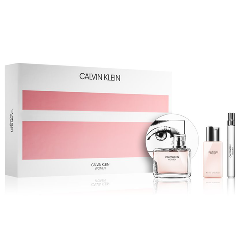 Calvin Klein Women 100ml EDP 3 Piece Gift Set
