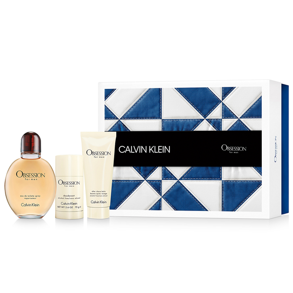 Obsession by Calvin Klein 125ml EDT 3 Piece Gift Set
