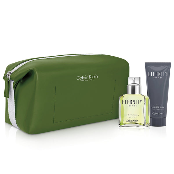 Eternity by Calvin Klein 100ml EDT 3 Piece Gift Set