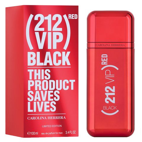 212 VIP Black Red by Carolina Herrera 100ml EDP
